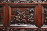 Superb Quality 19th Century Oak Box Settle (13 of 16)