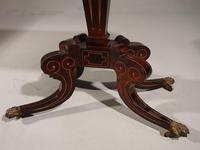 A Very Fine Regency Period Rosewood Card Table (3 of 5)