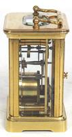 Superb Miniature French 8 Day Carriage Clock Lever Platform c.1880 Working (3 of 10)