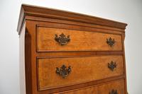 Antique Burr  Walnut Chest on Chest of Drawers (6 of 11)