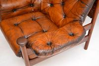 1960's Vintage Guy Rogers Leather Armchair (8 of 9)