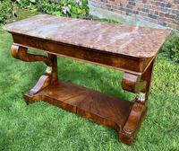 Burr Walnut Console Table (9 of 9)