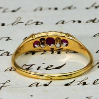 The Antique Late Victorian 1900 Ruby & Diamond Ring (4 of 4)