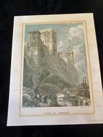 4 Original David Roberts Lithograph Prints c 1960