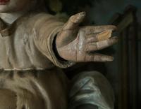 Bohumil Kafka RARE Carved Statue Sculpture St Anthony & Jesus (21 of 32)