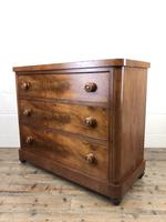 Victorian Mahogany Chest of Three Drawers (9 of 14)