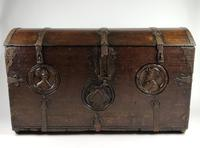 16th Century Romayne Marriage Chest (5 of 18)