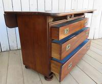 Antique French Drapers Chest of Drawers (7 of 13)