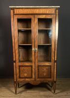Elegant Napoleon lll Period Rosewood  & Tulipwood Bookcase / Vitrine (5 of 13)