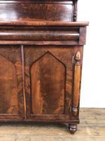 Antique 19th Century Mahogany Chiffonier Sideboard (2 of 12)