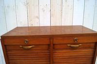 Oak Tambour Filing Cabinet (2 of 8)