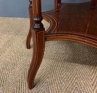 Edwards & Roberts Inlaid Mahogany Centre Table (4 of 15)