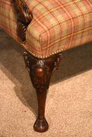 George I Style Walnut Gainsborough Armchair (6 of 8)