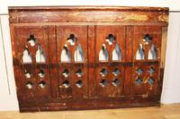 2 Lengths of 19th Century Gothic Arched Panelling (6 of 9)