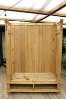 Fabulous & Exceptional Quality! Big Old Pine Double 'Knock Down' Wardrobe (14 of 17)