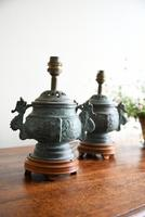 Pair of Chinese Archaic Style Urn Lamps (7 of 7)