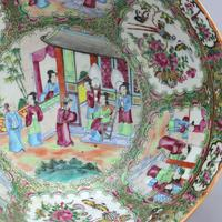 19th Century Cantonese Famille Rose Porcelain Bowl c.1880 (5 of 8)