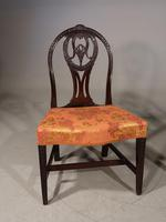 Good Late 18th Century Pair of Mahogany Hooped Back Single Chairs (2 of 5)