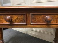 Fine Rare Burr Walnut Writing Table or Desk (9 of 20)