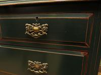 Green Painted Chest of Drawers, Shabby Chic Chest of Drawers (6 of 15)