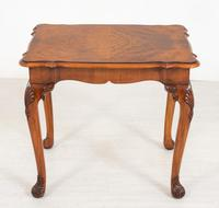Walnut Queen Anne Style Occasional Table (5 of 8)