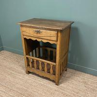 Country House French Georgian Oak Antique Bread Cupboard (5 of 5)
