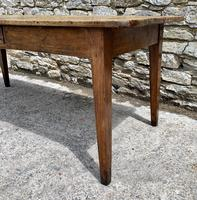Large French Sycamore & Elm Farmhouse Table (3 of 21)