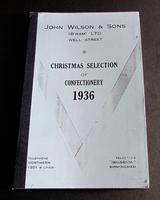 1936 Rare Christmas Confectionery Trade Catalogue for John Wilson Birmingham (2 of 4)
