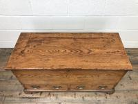 18th Century Elm Mule Chest with Hinged Top (5 of 14)