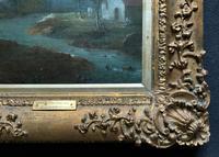 **Near Inverary** 18th Century Thomas Gainsborough Period Landscape Oil Painting (4 of 13)