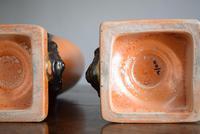 Large Pair of Secessionist Period Vases (10 of 10)