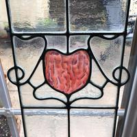 Antique Stained Glass Panel (3 of 12)