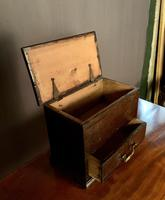 Early Nineteenth Century Miniature Pine Mule Chest (5 of 8)