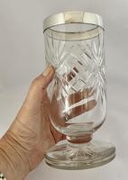 Superb Quality Silver Mounted Celery Vase. London 1921 (6 of 6)