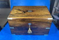 Victorian  Rosewood Stationary Box (3 of 33)