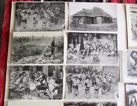 Large Collection of Ainu Hokkaido Japanese Postcards c.1900 (2 of 6)