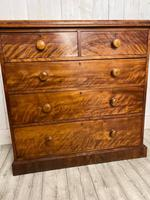 Victorian Satin Birch Chest of Drawers (3 of 4)