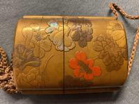 Antique Edo Japanese Inro, Netsuke & Ojime - Kansai and Jokosai (5 of 20)