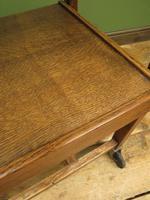 Vintage Metamorphic Oak Tea Trolley Table by Besway (18 of 18)