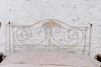 Pretty Portuguese Forged Iron no End Double Bed (2 of 5)