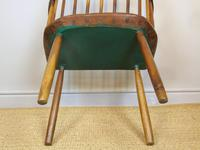 Charming 18th Century Yew Wood Comb Back Chair (6 of 10)
