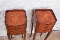 Very Pretty Pair of French Little Bedsides (4 of 8)