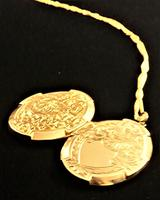 Chester Assayed Ornate Yellow Gold Locket 1913 (2 of 10)