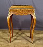 Fabulous Inlaid Kingwood Jardiniere/Wine Cooler