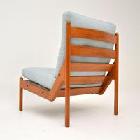 Danish 1960's Teak Lounge Chair by Illum Wikkelso (6 of 10)