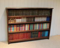 Large Solid Oak Open Bookcase (7 of 9)