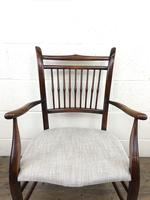 Antique 19th Century Spindle Back Chair (12 of 13)