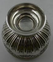 Antique Victorian Silver Bowl - London 1899 (2 of 6)