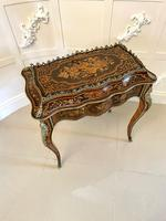 Outstanding Quality 19th Century Louis XV Tulipwood & Kingwood Marquetry Inlaid Jardiniere Table