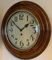 German 8 Day Wall Clock, Amazing Condition